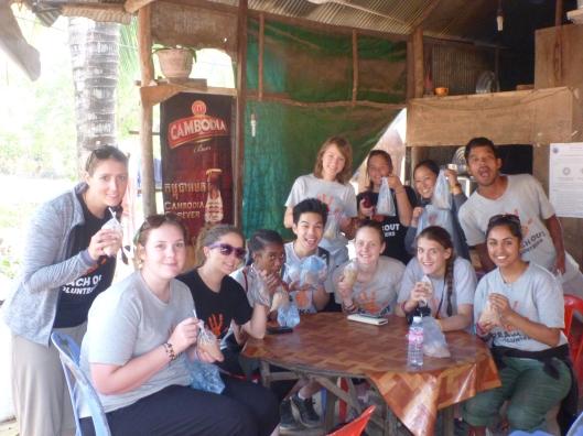 YUM! iced coffee and iced mili!